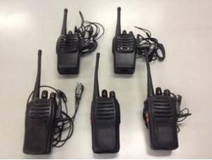 被疑者が使用していた海外製不法無線機(総務省のサイトから)