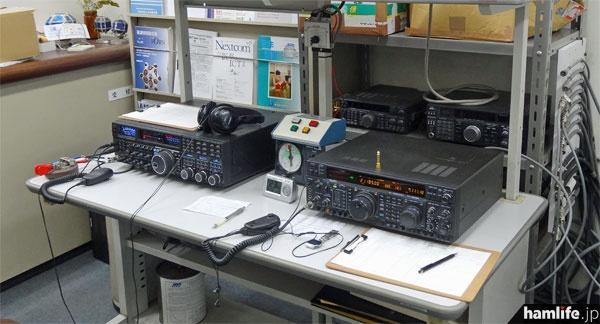 HFはリグ2台の体制。FTDX5000とFT1000MPを使用