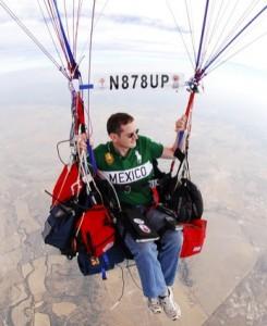 風船による大西洋横断に挑戦中のKJ4GQV、Jonathan R. Trappe氏(Facebookより)