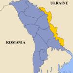 「沿ドニエストル共和国」は非常に長細い(ウィキペディアから)