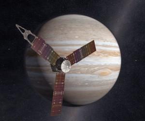 木星探査機のジュノー(Juno)。写真:NASA