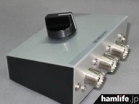 背面にM型コネクター端子が取り付けられているので、前面はスッキリ
