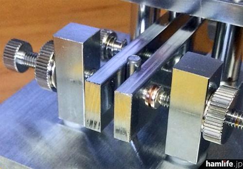 精度の高い可動部と接点はGHDキーならでは