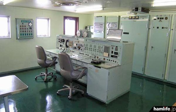 4階に設置された無線通信室は現役当時の状態を保っている(写真提供=函館市青函連絡船記念館摩周丸)