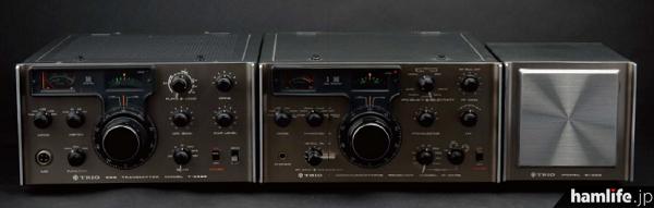 トリオから発売されたセパレートタイプ(「送信機」「受信機」が別れた構成)の集大成とも言える「T-599S/R-599S」