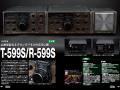 「アマチュア無線機コレクション<FT-101の時代>」の中からT-599S/R-599S紹介誌面