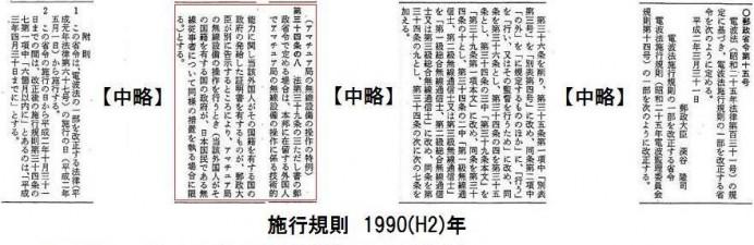 1990(平成2)年3月31日の官報より