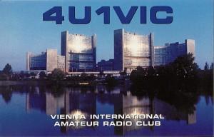 4U1VICのQSLカード