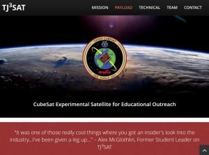 TJ3SatのWebサイト