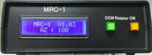 「MRC-1」のフロントパネル