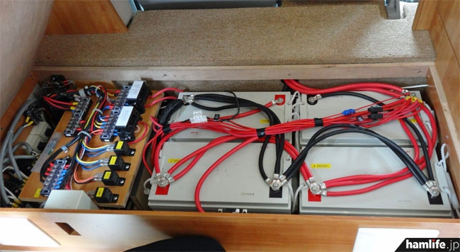無線機器の動作に使われる充電式バッテリーシステム