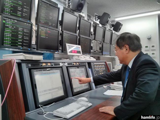 「虎ノ門琴平タワー、弊社社長の火入れ式。2013年12月31日06時55分。」