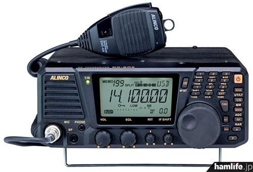 アルインコの新製品、SDRシステム採用のHF機「DX-SR9J/M」