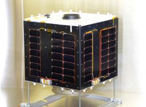 光通信実験衛星「ShindaiSat(シンダイサット)」=愛称「ぎんれい」(同Webサイトから)