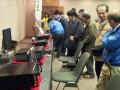 関西ハムシンポジウムで、今回初めて実現した各メーカーの展示も大盛況