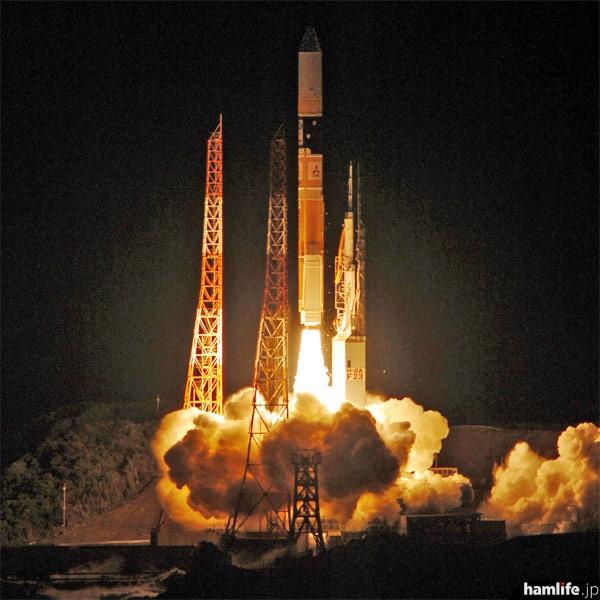 打ち上げに成功したH2Aロケット23号機(写真提供:JAXA)