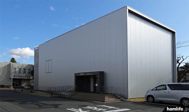 静岡大学浜松キャンパス内にある「高柳記念未来技術創造館」の外観