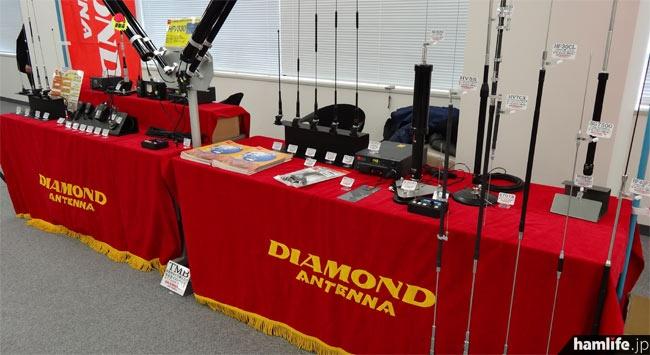 第一電波工業も各種の製品展示を行った