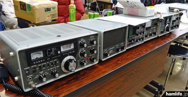 FT-101Eのライン(FT-101E、FTV-650B、FTV-250、YO-101、SP-101P、FV-101)を販売。価格は65,000円という