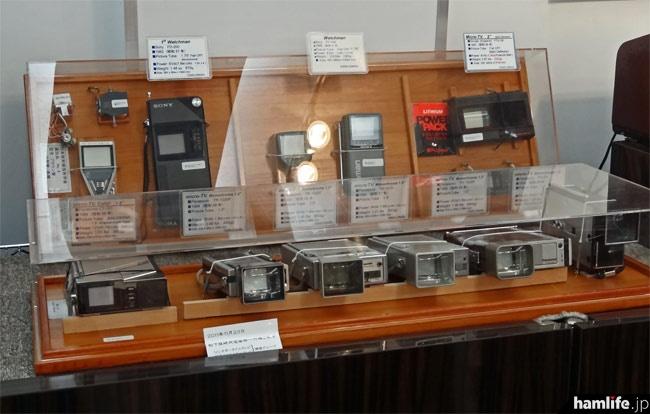 小型テレビ受像機の歩み。液晶テレビが登場する前は小型(薄型)のブラウン管が使用された