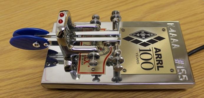 ARRLが100周年を記念して頒布を開始するCentennial Key