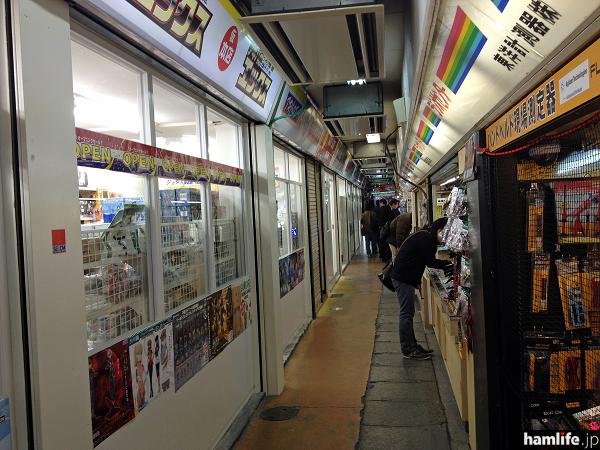 パーツショップが連なっていた店舗の雰囲気が一転してしまった、秋葉原ラジオストアー跡