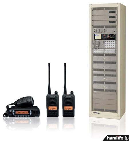 展示予定の「無線連動型・緊急情報配信システム」(プレスリリースより)