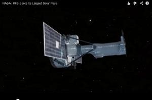 太陽表面で起きたフレアを捉えた太陽観測衛星「IRIS」