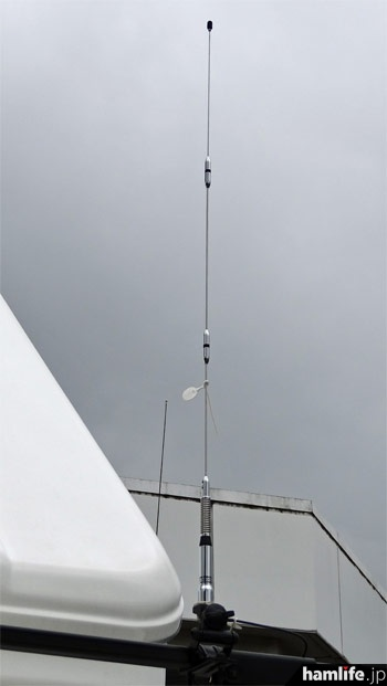 351MHz帯デジタル簡易無線用のアンテナ、AZ350MSP