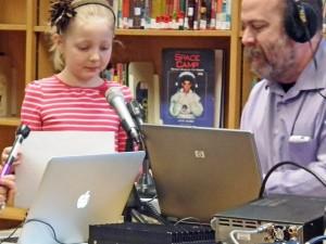 ミズーリ州の小学校でのARISSスクールコンタクト(ARRL NEWSより)