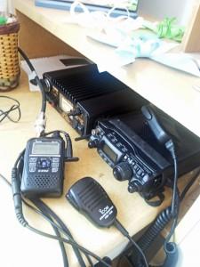 無線機の写真