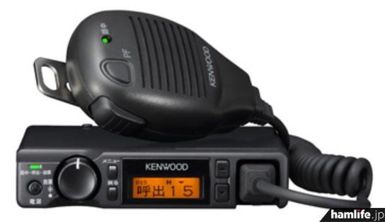 JVCケンウッドのモービル型簡易デジタル無線機としては初となる「TMZ-D504」
