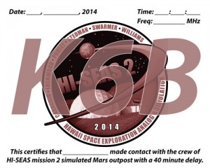 K6BのQSLカード