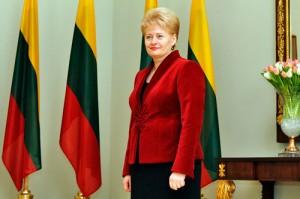 リトアニアのDalia Grybauskaite大統領