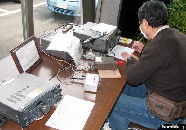 運用期間終了直前の2014年3月29~30日に仙台市宮城野区行われた公開運用の模様