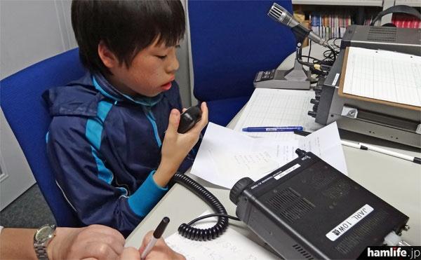 最後に10W機(IC-7000S)での交信を実施。10Wでも無事に応答があり一安心