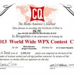 <珍プリフィックス局が多数参戦!>5月28日(土)から48時間、「2016 CQ World-Wide WPX Contest CW」を開催