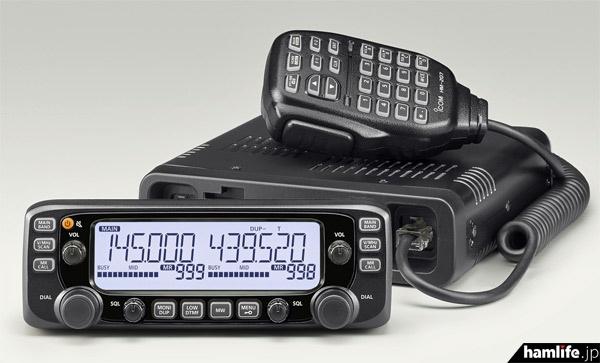 アイコムの新製品、144/430MHz帯FMモービル機「IC-2730」