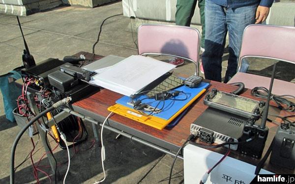 運用に使用したD-STAR関連の機材