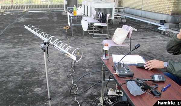 1200MHz帯はループアンテナを使用