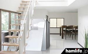 階段下などへの空間に「Kakureya2」を設置したイメージ