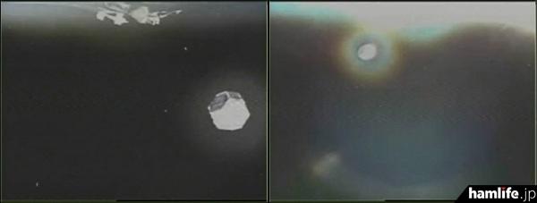 H2Aロケット26号機から分離される副衛星。写真左「しんえん2」、写真右「ARTSAT2:DESPATCH」(写真提供 JAXA)