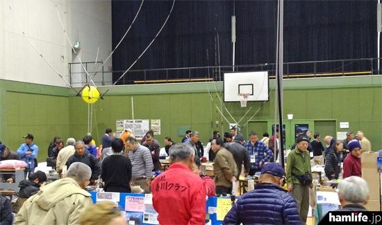 丸亀市の「三菱電機丸亀事業所体育館」の一角を使用し、さまざまな展示が行われた