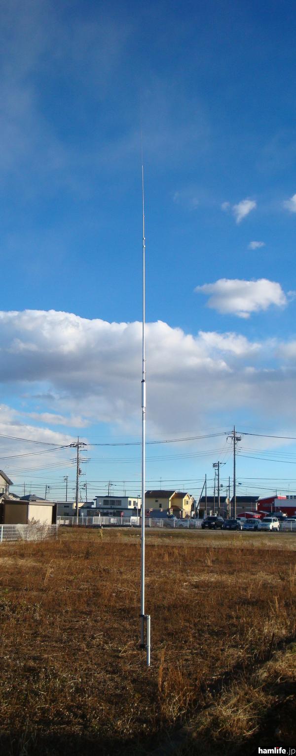 7MHz帯HFモノバンドバーチカルアンテナ「VS-40VA」