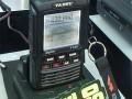 4月11日、群馬県内の無線ショップイベントで初展示された、八重洲無線のFT2D