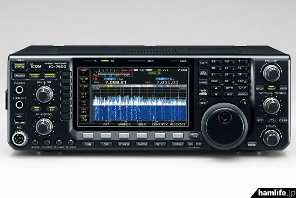 アイコムのHF~50MHz帯オールモード機「IC-7600」