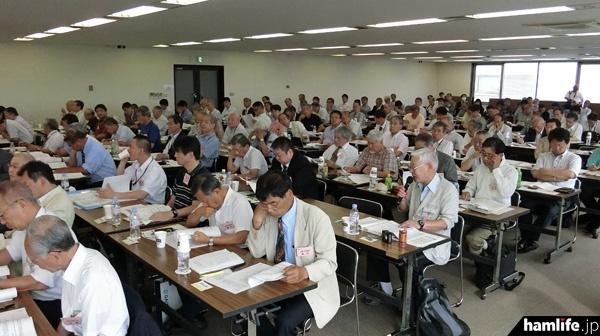 第4回定時社員総会の開催風景。全国から125名の社員が集合した