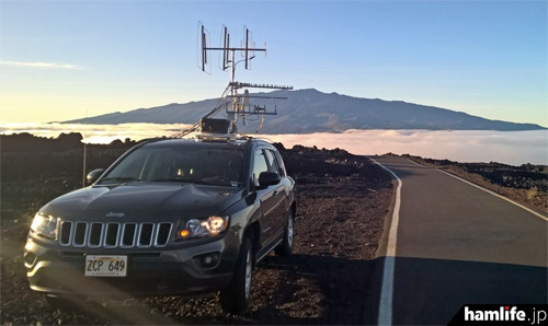 世界記録を樹立したN6NB/KH6の移動運用風景(ARRL NEWSより)