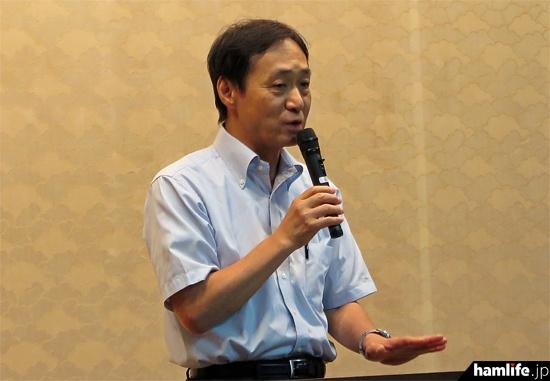 アマチュア無線の熱い想いと、さまざまな体験を語る柳澤秀夫NHK解説委員(JA7JJN)