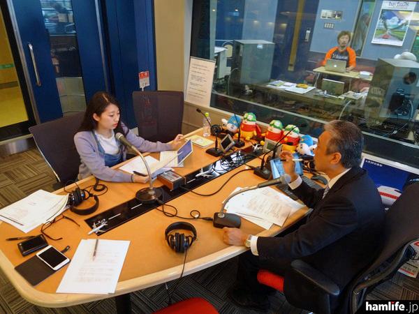ラジオ成田の「CQ Communication」は、パーソナリティのJA1AKR・長谷部光一氏と、アシスタントのゆなさんが進行するアマチュア無線の魅力を発信する番組だ。好評を得て、いよいよ第2シーズンがスタートする